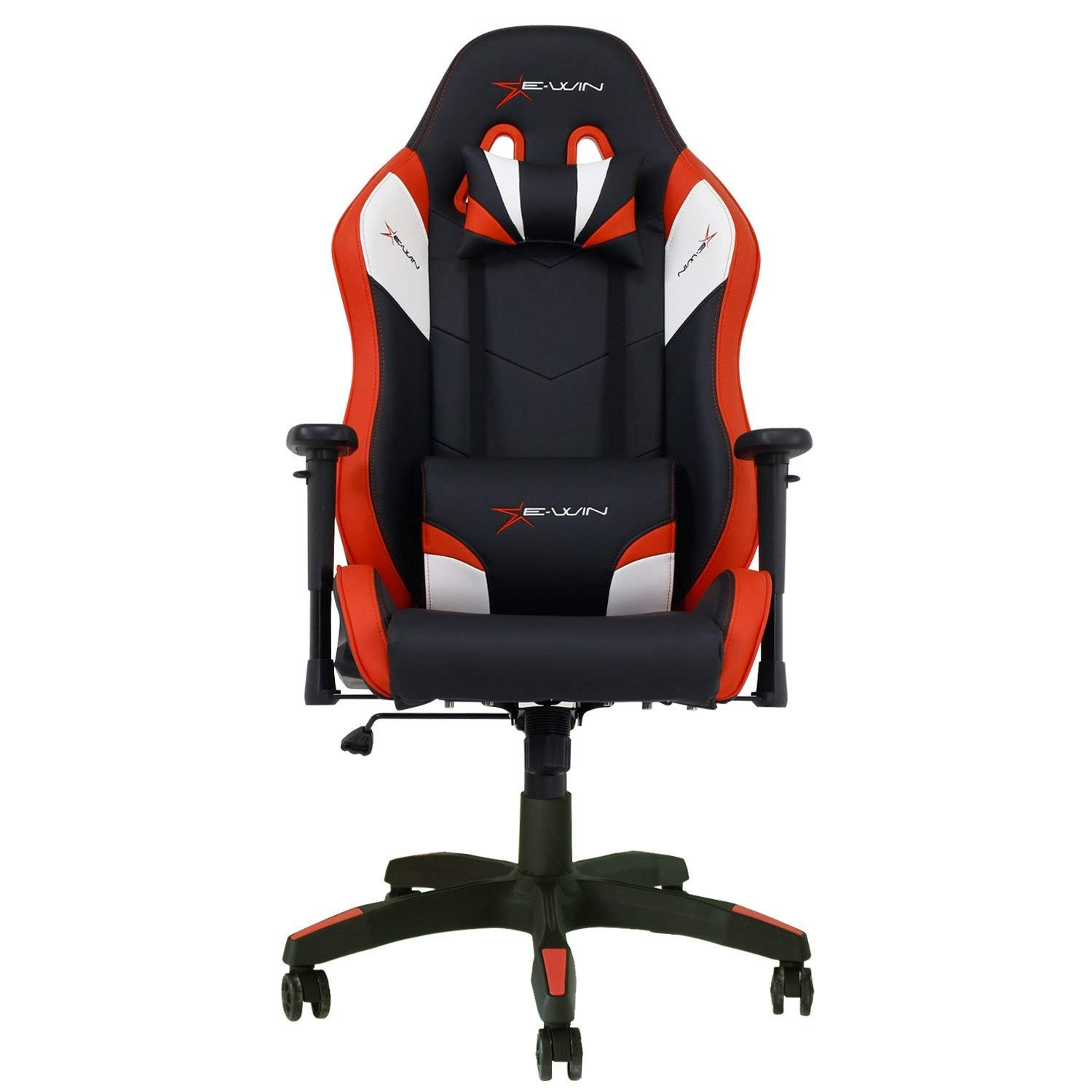 E-WIN Ergonomic Racing-Style Leather Gaming Chair