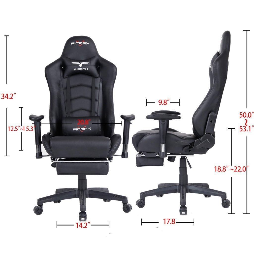 Ficmax Large-Size Chair Measurements