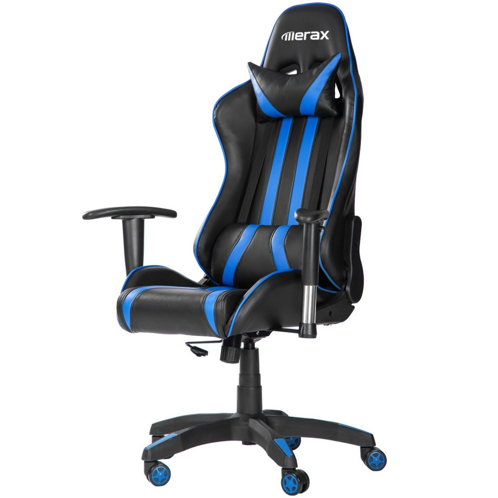 Merax High Back PU Leather Gaming Chair