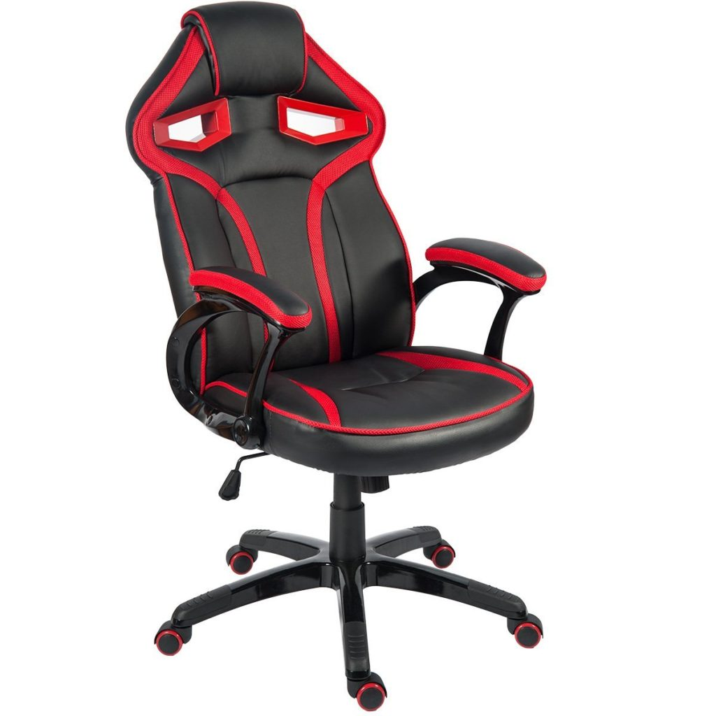 Merax Stylish Devils Eye Gaming Chair